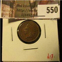1909 Indian Head Cent, F, value $17