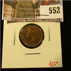 1900 Indian Head Cent, AU+, luster! value $25