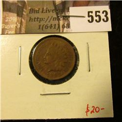 1901 Indian Head Cent, AU, luster! value $20