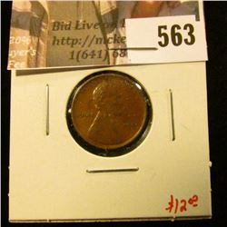 1909 P Lincoln Cent, AU, value $12