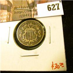 1882 Shield Nickel, VG dark, value $30