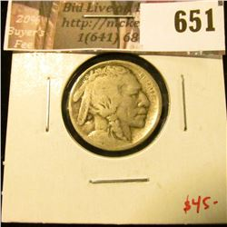 1913-S Type 1 (Mound) Buffalo Nickel, G, value $45