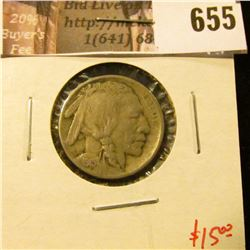 1915 Buffalo Nickel, VF, value $15