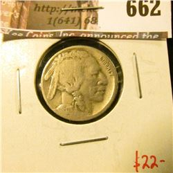 1917-S Buffalo Nickel, G, value $22