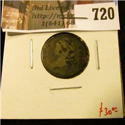 1830 Bust Dime, G, value $30