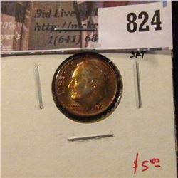 1962 Roosevelt Dime, BU from Mint Set, value $5
