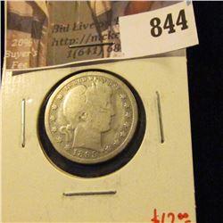 1895-O Barber Quarter, G, value $12