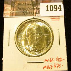 1094 . 1946-S Booker T. Washington Commemorative Half Dollar, BU, N