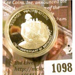 1098 . 1982-S Washington 250th Anniversary Commemorative Half Dolla