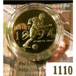 1110 . 1994-P World Cup Soccer Tournament Commemorative Half Dollar