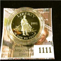 1111 . 1995-S Civil War Battlefield Preservation Commemorative Half