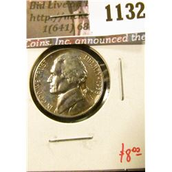 1132 . 1958 Proof Jefferson Nickel, value $8