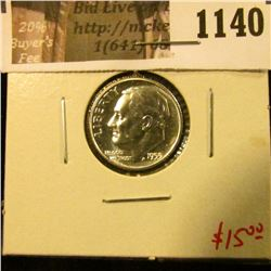 1140 . 1955 Proof Roosevelt Dime, value $15