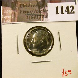 1142 . 1957 Proof Roosevelt Dime, value $5