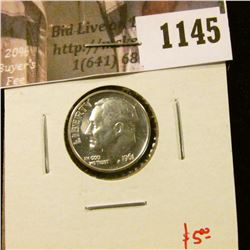 1145 . 1961 Proof Roosevelt Dime, value $5