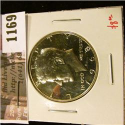 1169 . 1968-S Proof Kennedy Half Dollar, 40% Silver, value $8