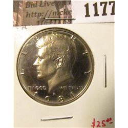 1177 . 1981-S type 2 Proof Kennedy Half Dollar, SCARCE, value $25+