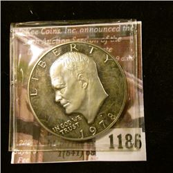 1186 . 1978-S Proof Eisenhower Dollar, value $5