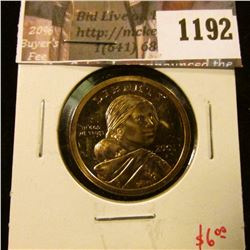 1192 . 2001-S Proof Sacagawea Dollar, value $6