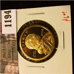 1194 . 2004-S Proof Sacagawea Dollar, value $6