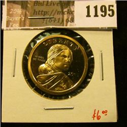 1195 . 2005-S Proof Sacagawea Dollar, value $6