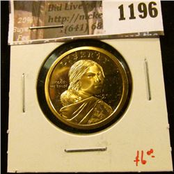 1196 . 2006-S Proof Sacagawea Dollar, value $6