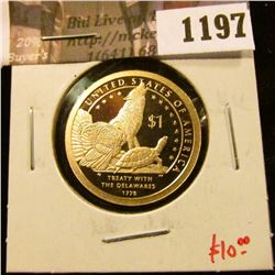 1197 . 2013-S Proof Sacagawea Dollar, value $13