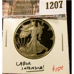 1207 . 1941 Walking Liberty Half Dollar cut out for jewelry, time a