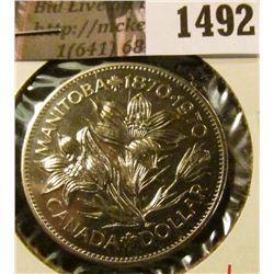1492 . 1970 Canada One Dollar, BU MS64+, value $20+