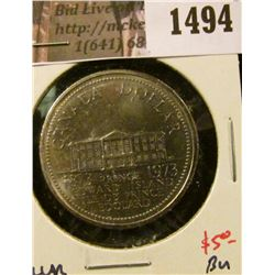 1494 . 1973 Canada One Dollar, BU, value $5+