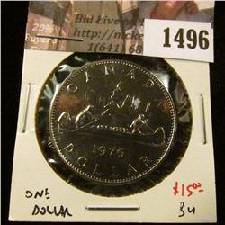 1496 . 1976 Canada One Dollar, BU, value $15+