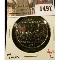 1497 . 1982 Canada One Dollar, BU, value $10+