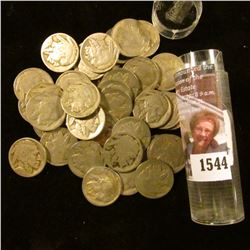 1544 . (40) 1920 era Partial Date Buffalo Nickels.