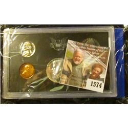 1574 . 1970 S U.S. Silver Proof Set, Original as issued.