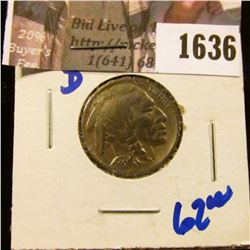 1636 . 1924-D Semi Key Date Buffalo Nickel