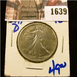 1639 . 1919-D Walking Liberty Half Dollar