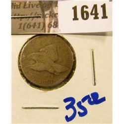 1641 . 1857 Flying Eagle Cent