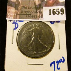1659 . 1916-D Walking Liberty Half Dollar