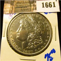 1661 . 1897-O Morgan Silver Dollar
