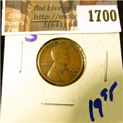 1700 . 1913-S Semi Key Date Wheat Cent