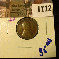 1712 . 1922-D Wheat Cent