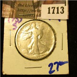 1713 . 1933-S Walking Liberty Half Dollar