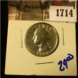 1714 . 1932 Washington Quarter
