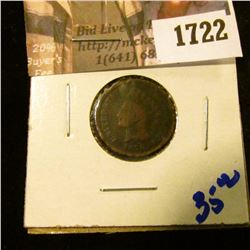 1722 . Key Date 1870 Indiann Head Cent