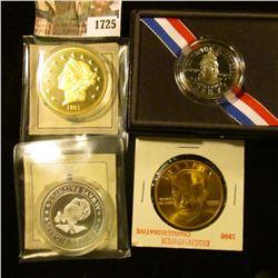 1725 . 2000 Congrssional Bicentennial Half Dollar With Box, Semper