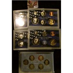 1726 . 2002 S, 2005 S Proof Sets Plus 2009 S Proof Washington DC an