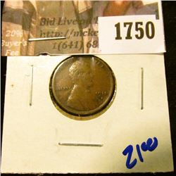 1750 . 1915-S Wheat Cent