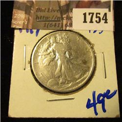 1754 . 1919 P Walking Liberty Half Dollar