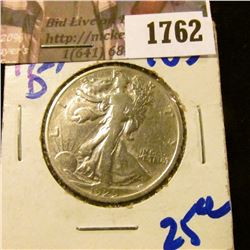 1762 . 1929-D Walking Liberty Half Dollar