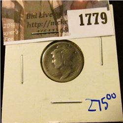 1779 . Key Date 1921 Mercury Dime.